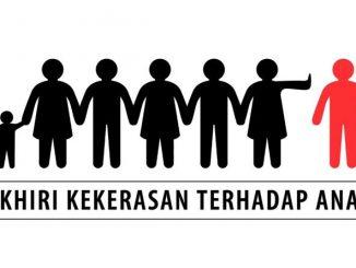 Ilustrasi stop kekerasan anak