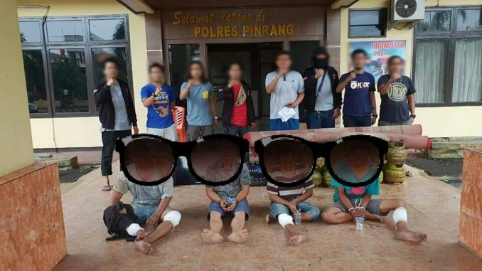 Polisi Bekuk Kawanan Pencuri, Seorang Diantaranya Oknum PNS
