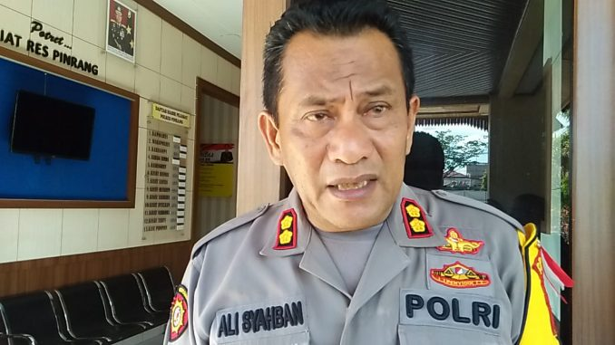 AKBP Ali Syahban, Wakapolres Pinrang.