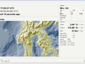 Gempa Bumi Guncang Mamasa, Getarannya Terasa hingga Mamuju