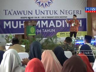 Suasana Milad Muhammadiyah ke 106 di Gedung Islamic Centre Kota Parepare, Senin 26 November 2018.
