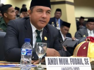 Andi Muhammad Fudail, Anggota DPRD Parepare.