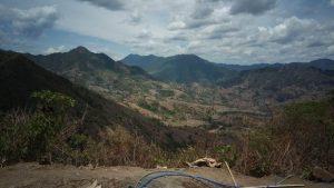 Suasana pegunungan Basseang Pinrang, Sulsel.