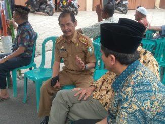 Kolega Amin Dolla berdatangan ke rumah duka di Jalan Agus Salim, Parepare.