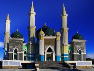 Banjir Akibat Atap Masjid Agung Bocor, Sekda Janji Segera Renovasi