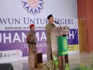 DR KH Mustari Bosra MA, Wakil Ketua Pimpinan Wilayah Muhammadiyah Sulsel.