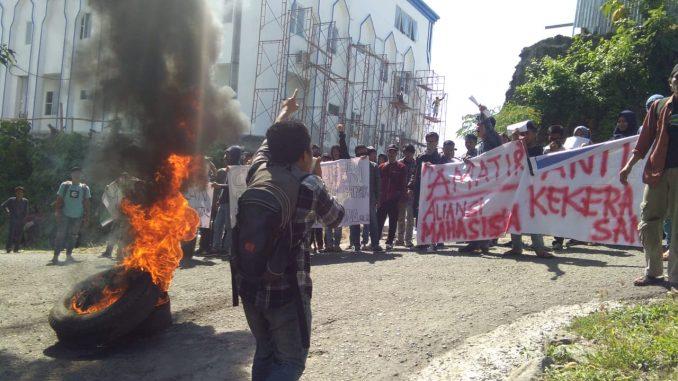 Sikapi Tindak Kekerasan di Kampus, Mahasiswa IAIN Parepare Aksi Amatir