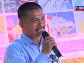 Syawal Pimpinan PT Elnusa Petrofin Parepare.