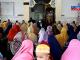 Suasana maulid Nabi Mubammad SAW di Masjid An-nur Latappareng, Desa Ajakkang, Kabupaten Barru.