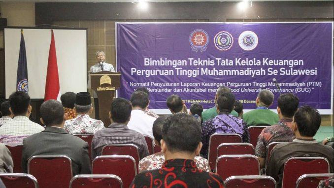 UM Parepare jadi tuan rumah kegiatan Bimtek PTM se Sulawesi.