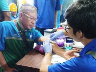 GALERI FOTO : 180 Karyawan PT EPN Parepare Jalani Pemeriksaan Kesehatan