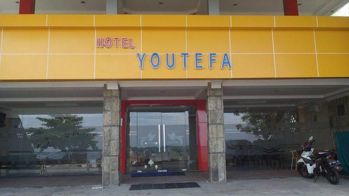 Hotel Youtefa di Sumpang Minangae, Kota Parepare.