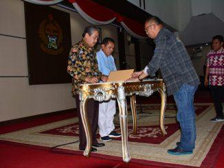 Gladi resik jelang pelantikan Bupati dan Wakil Bupati Sidrap.