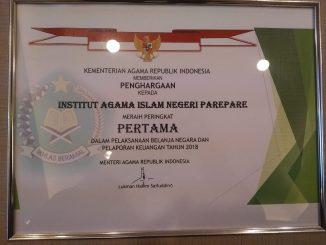 Penghargaan IAIN