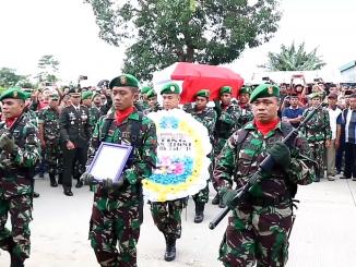 Jenazah Praka Nasruddin tiba di Kampung Halaman di Desa Pao-pao, Kecamatan Tanete Rilau, Kabupaten Barru.