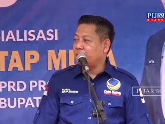 Ketua DPW partai Nasdem Sulsel, Rusdi Masse.