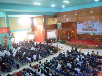 Pembukaan perkampungan Bahasa Arab di Auditorium IAIN Pareare.