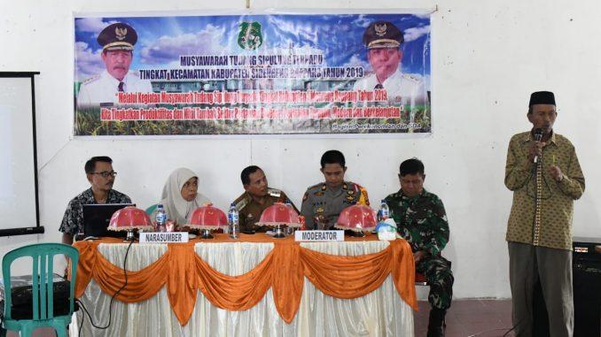 Suasana MTS Panca Lautang Sidrap.