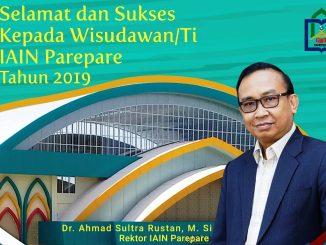 Inilah Nama dan Foto 532 Wisudawan IAIN Parepare Tahun 2019