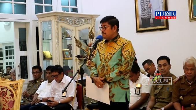 Ketua Komisi Lima DPR RI Ibnu Munsir
