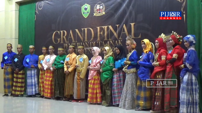 Seluruh kontestan Duta Anak 2019 Kabupaten Barru.