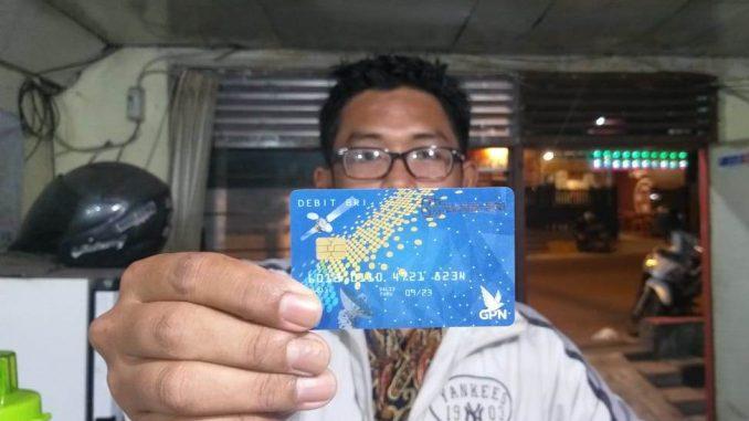 ATM yang diduga tak bisa digunakan di ATM luar negeri.