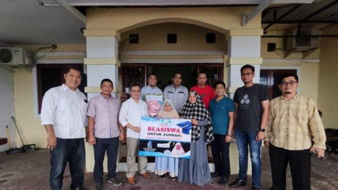 Pengembang Indonesia Sulsel Beri Beasiswa Rp25 Juta kepada Juara 3 Hafidz Cilik Indonesia