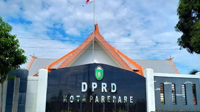 Kantor DPRD Parepare.