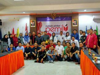 Komunitas Pemuda Makassar Padati KPU, Tunjukkan Komitmen Kawal Pilwali 2020