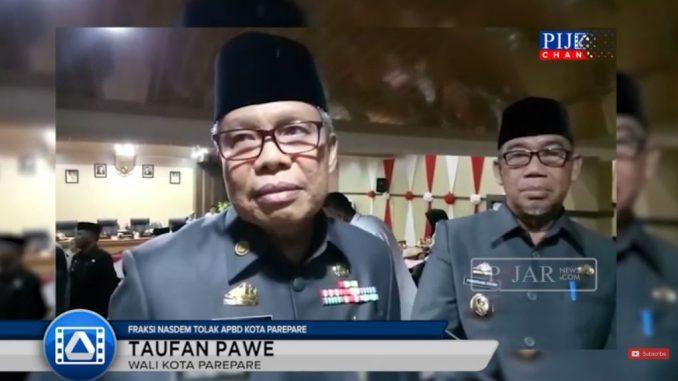 Video : Fraksi Nasdem Tolak APBD, Ini Komentar Wali Kota Parepare
