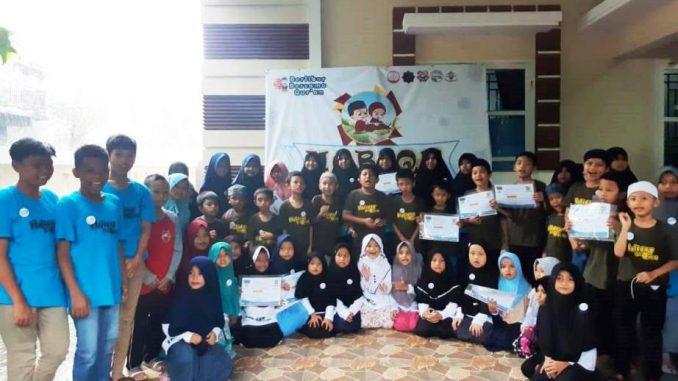 FOTO: Isi Liburan Dengan Kegiatan Bermanfaat, Puluhan Siswa Sekolah TK-SD di Kota Pinrang Ikuti Program HOBIQU