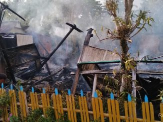 Lima Rumah di Desa Bungi Dilalap Si Jago Merah