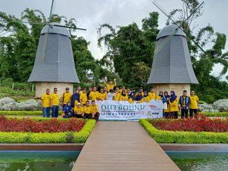 Rombongan IAIN Parepare saat berada di Lokasi Wisata di Bali.