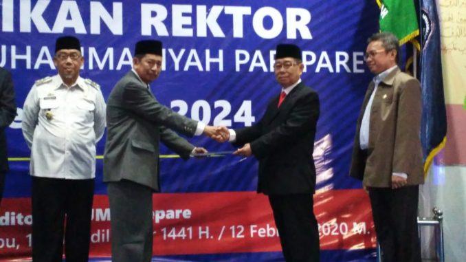 Pelantikan Rektor UM Parepare Periode 2020-2024