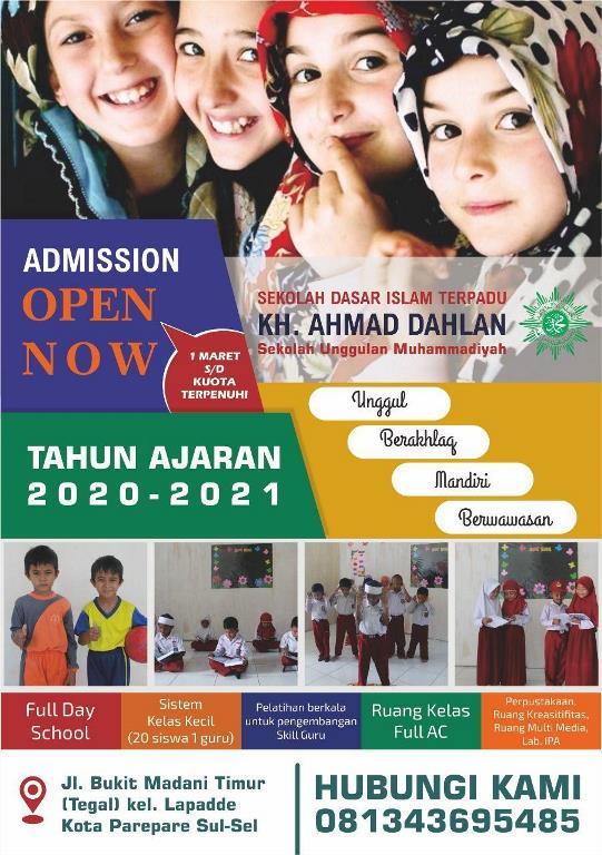 SDIT KH. AHMAD DAHLAN PAREPARE