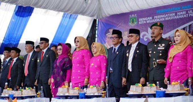 Hadiri Perayaan Hut Empat Kabupaten, Taufan Pawe Sebut Bentuk Sinergitas Antar Daerah