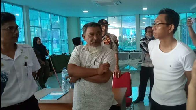 Ketua Komisi III DPRD Parepare, Rudy Najamuddin (tengah) saat melakukan kunjungan di RS Hasri Ainun Habibie, Rabu (5/2/2020) -- Mulyadi/ Pijarnews--