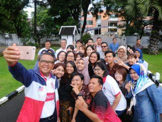 Nurdin Abdullah Harap Mahasiswa Indonesia-Jepang Bisa Ubah Dunia