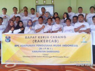 Gelar Rakercab, Ketua BPC HIPMI Enrekang Harap Pemuda Bangun Pola Pikir