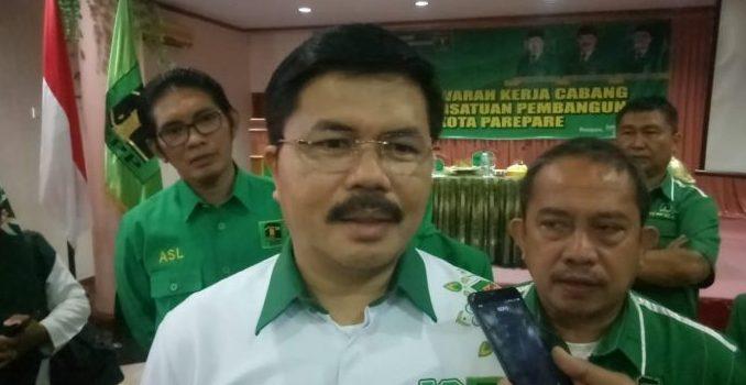 Muskercab PPP Parepare, Ketua DPW Sulsel Harap Kader Tingkatkan Kinerja