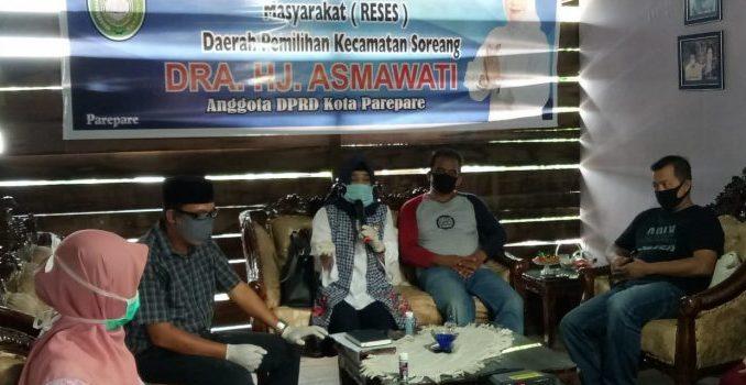 Asmawati Reses di Jompie, Warga Curhat soal Teknis Penyaluran Bantuan
