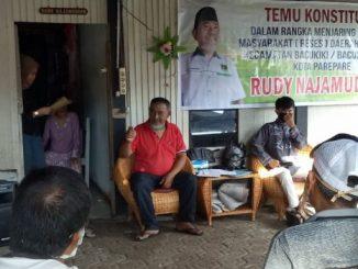 Selain Reses Tatap Muka, Rudy Najamuddin Bakal Jaring Aspirasi Warga Door to Door