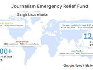 5.300 Media Seluruh Dunia Dapat Pendanaan JERF dari Google News Initiative