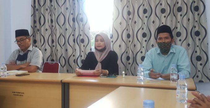 Datang Langsung ke Fakultas, Kabiro AUAK IAIN Parepare Sosialisasikan Surat Edaran dan Maklumat Rektor