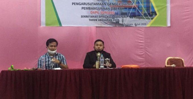 Sosialisasi Perda Pengarusutamaan Gender, Tasming Hamid Dorong Kemajuan Peran Perempuan