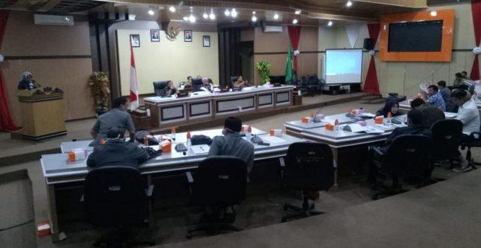 DPRD Parepare Rapat Paripurna Pembahasan Lanjutan Dua Ranperda Inisiatif