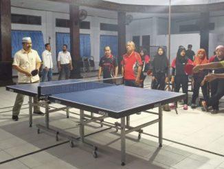 Ketua PTMSI Sulsel Puji Perkembangan Pembinaan Tenis Meja di Parepare