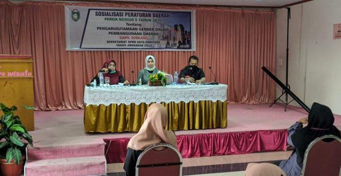 Sosialisasi Perda PUG, Legislator Nasdem Parepare Asmawati ; Peran Perempuan dan Laki-laki Setara
