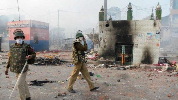 Kerusuhan New Delhi