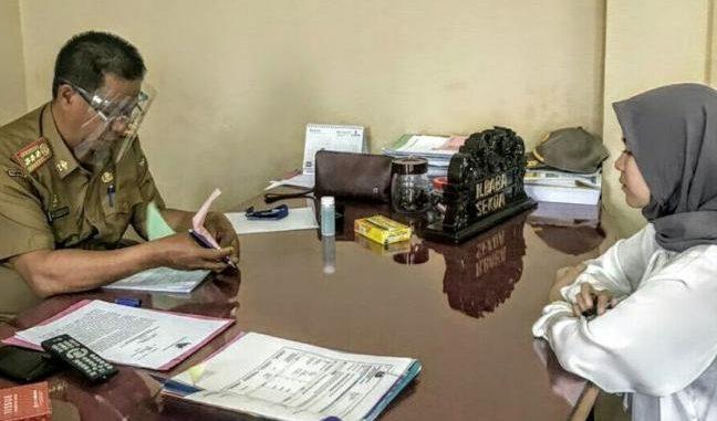 Mahasiswi UMM Jatim KKN Mandiri di Kampung Tangguh Covid-19 Enrekang